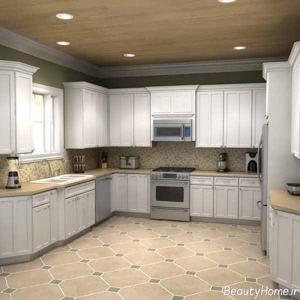 دکوراسیون داخلی آشپزخانه ساده و ارزان