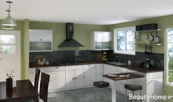 مدل دکوراسیون داخلی آشپزخانه ساده