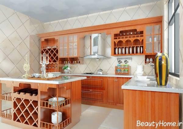 دکوراسیون خاص آشپزخانه ساده