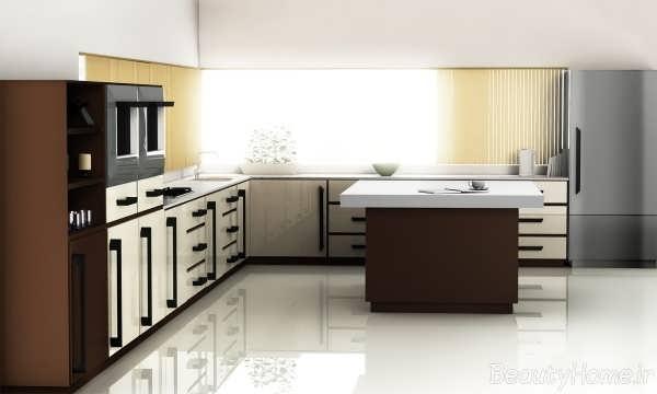 دکوراسیون زیبای آشپزخانه ساده