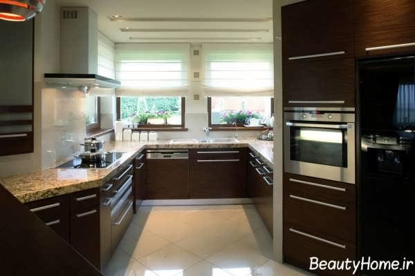 دکوراسیون جذاب آشپزخانه ساده