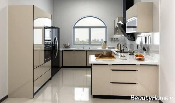 دکوراسیون داخلی آشپزخانه جالب و ساده