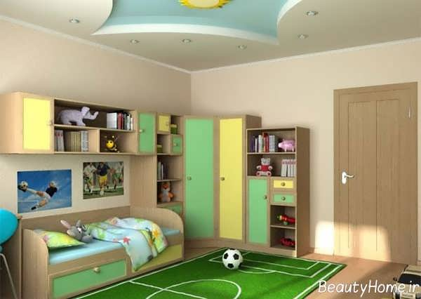 دکوراسیون اتاق پسر نوجوان با 20 طراحی مختلف