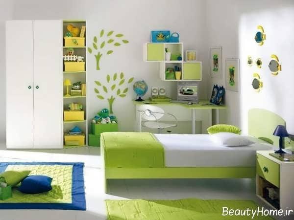 دکوراسیون شیک و زیبا اتاق نوجوان