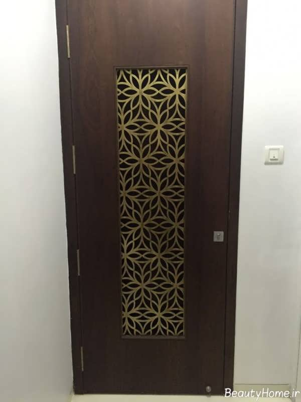 مدل درب چوبی آپارتمان ها