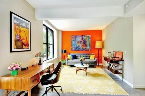 دکوراسیون منزل مدرن و رنگی