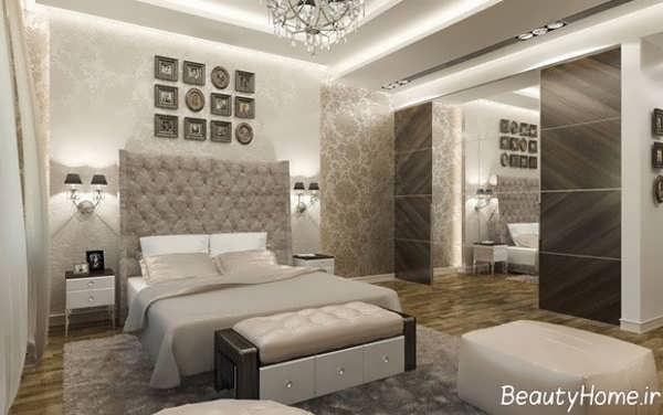 طراحی اتاق خواب مدرن و دو نفره
