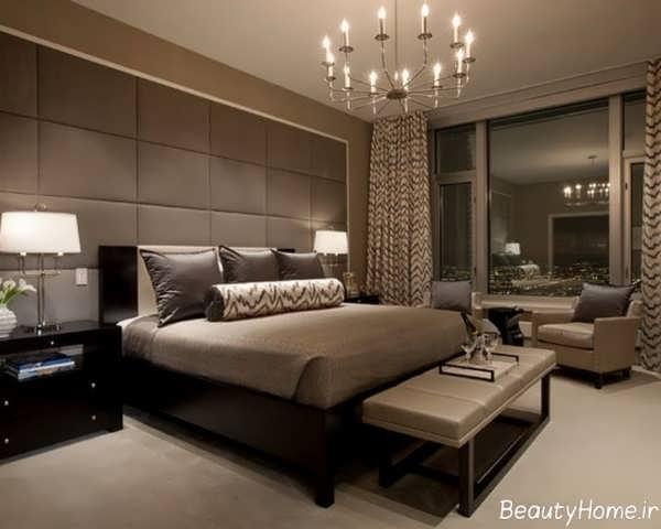 طراحی اتاق خواب مدرن و شیک دو نفره