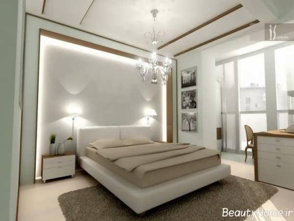 طراحی نورپردازی مدرن اتاق خواب
