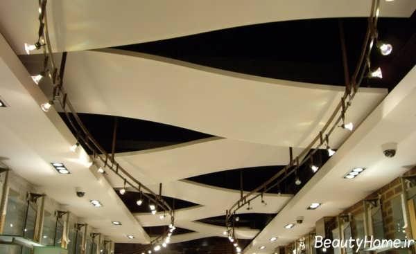 مدل کناف سقف برای مغازه های شیک