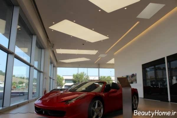 مدل کناف شیک برای سقف مغازه