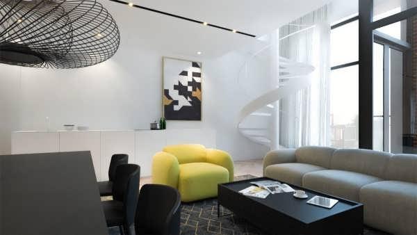 طراحی داخلی ساختمان های مدرن