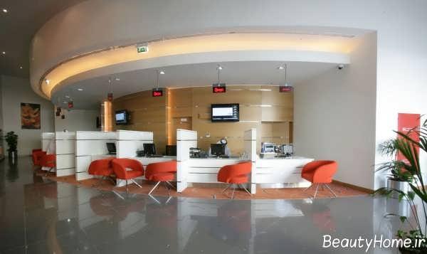 دیزاین شیک و کاربردی بانک