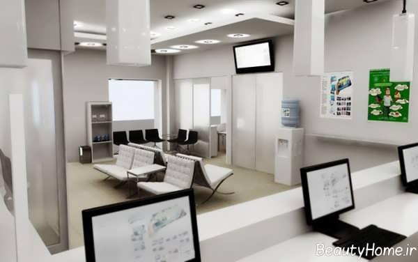 طراحی داخلی بانک با دکوراسیون های زیبا
