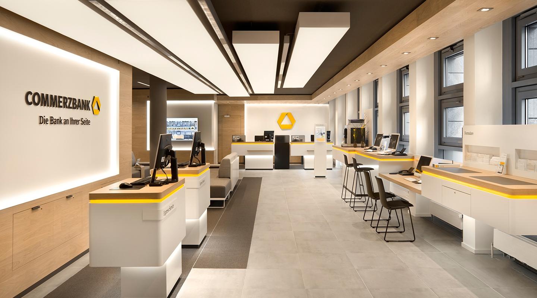 طراحی داخلی بانک با انواع طرح های مدرن و کاربردی