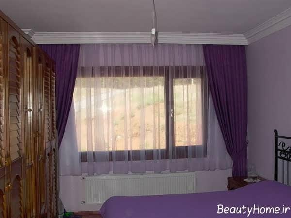 انواع مدل پرده مدرن برای اتاق خواب