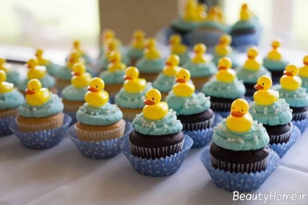 تزیین کاپ کیک برای تولد