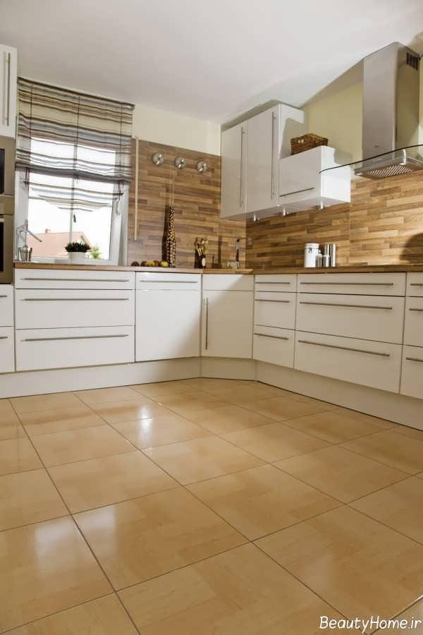 طرح سرامیک کف آشپزخانه جدید و بسیار شیک