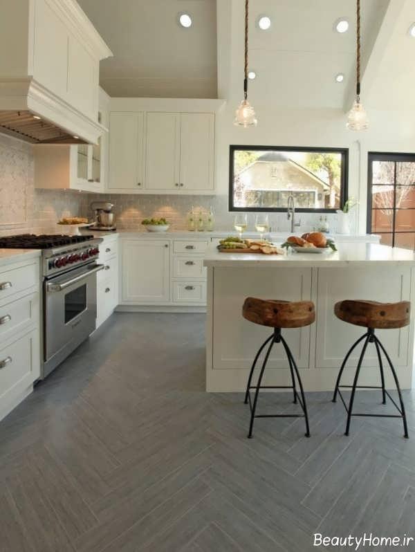سرامیک زیبا برای کف آشپزخانه