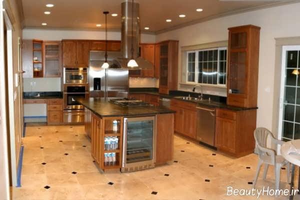 سرامیک کف آشپزخانه کلاسیک