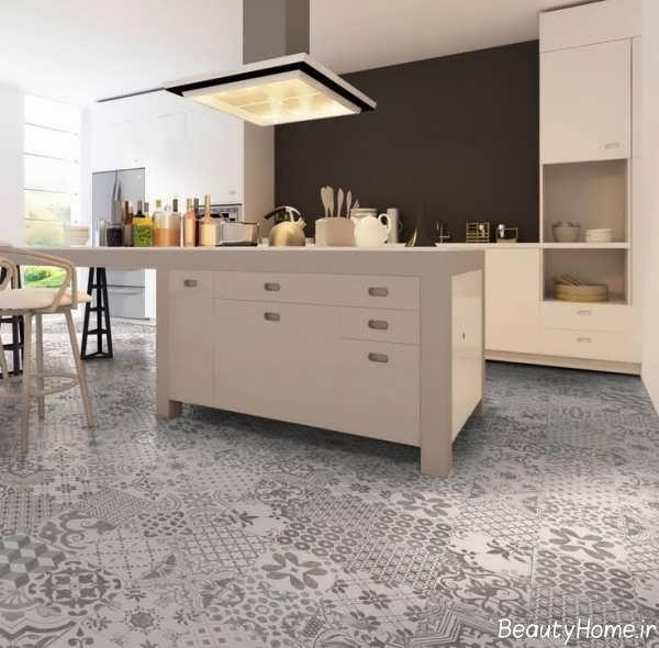 سرامیک طرح دار برای کف آشپزخانه
