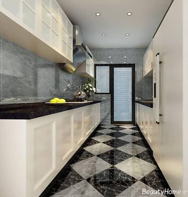 مدل سرامیک شیک و زیبا برای کف آشپزخانه