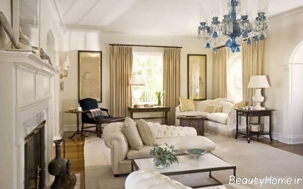 طراحی داخلی کلاسیک و شیک