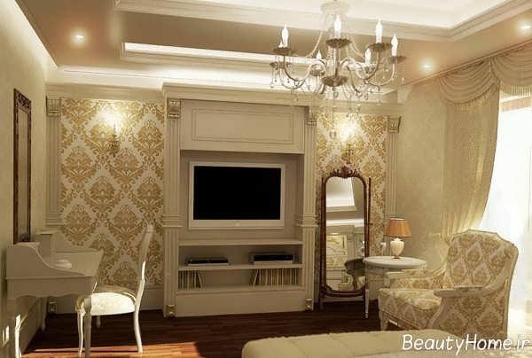 دکوراسیون زیبا و مدرن خانه کلاسیک