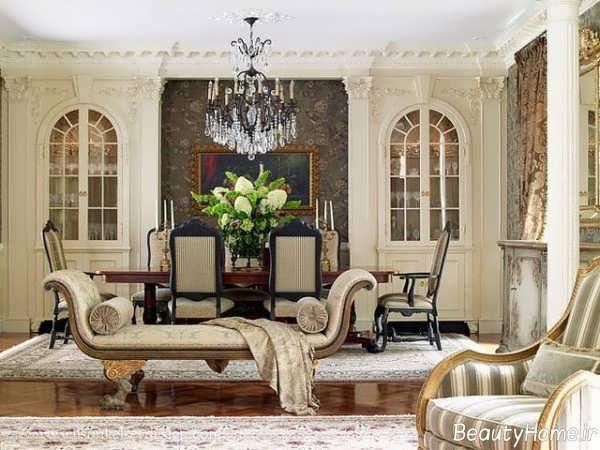 معماری داخلی کلاسیک و شیک