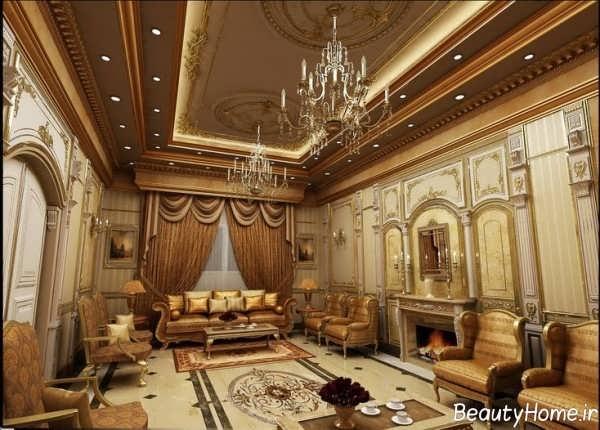 معماری داخلی کلاسیک و جذاب