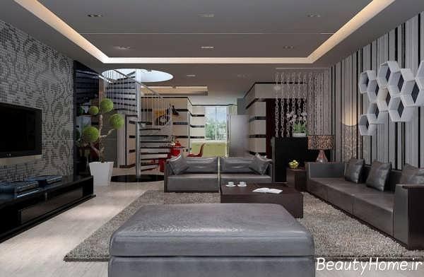 نحوه دیزاین و تزئین دیوارهای اتاق پذیرایی