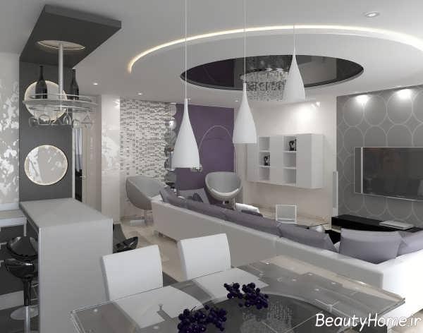 دیزاین های اتاق پذیرایی منازل ایرانی