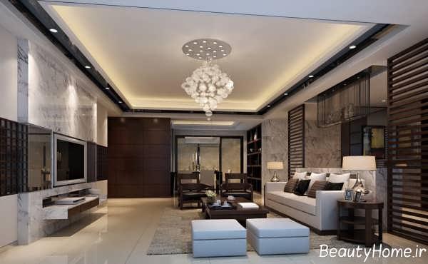 دیزاین و چیدمان اتاق پذیرایی