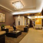 دیزاین اتاق پذیرایی با دکوراسیون های کاربردی