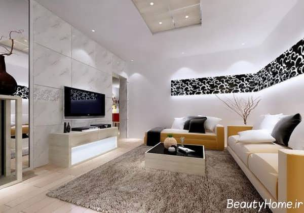 بهترین مدل دیزاین اتاق پذیرایی