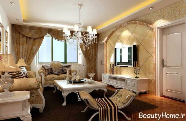 طراحی دیزاین مدرن اتاق پذیرایی