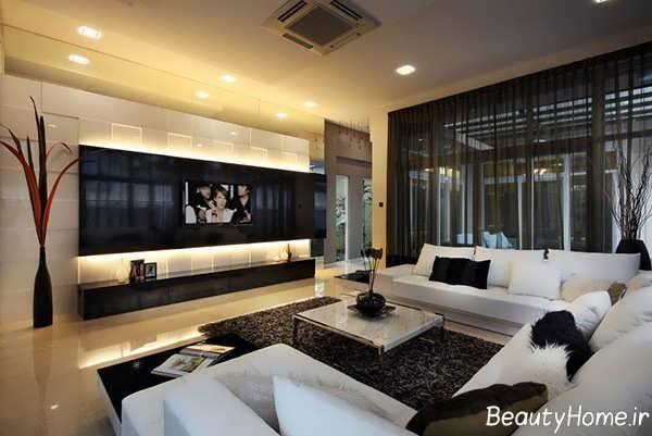 دیزاین وسایل تزئینی و اساسی اتاق پذیرایی