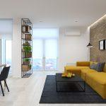 طراحی دکوراسیون خانه ال شکل
