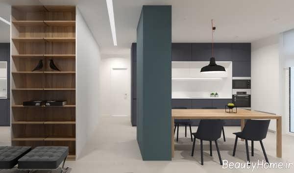دکوراسیون خانه ال با طراحی زیبا و کاربردی