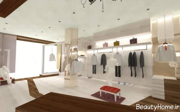 طراحی داخلی مغازه پوشاک