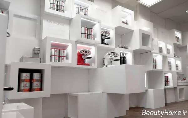 ایده هایی برای طراحی دکوراسیون مغازه