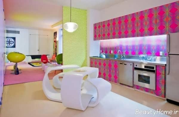 انتخاب رنگ آشپزخانه مدرن و کلاسیک