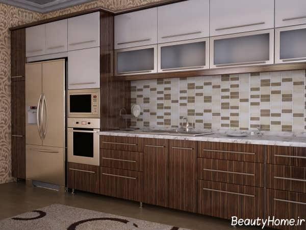 مدل زیبا و شیک کابینت آشپزخانه
