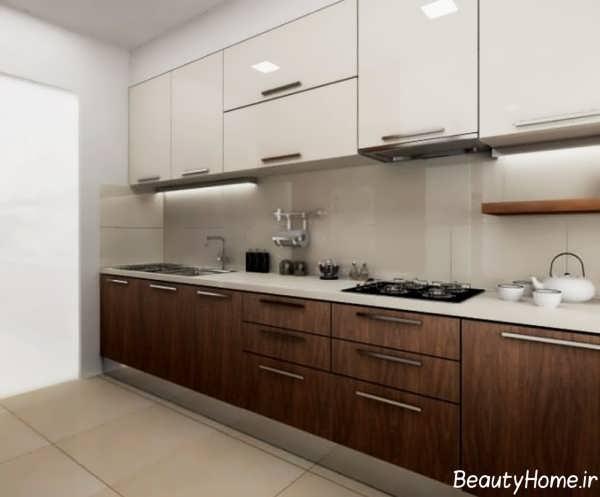 کابینت آشپزخانه ام دی اف جدید و زیبا