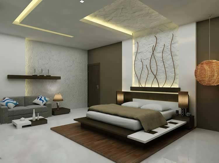دکوراسیون اتاق خواب مستر با طراحی کاربردی