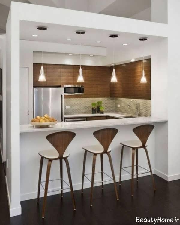 دیزاین آشپزخانه مدرن و جذاب