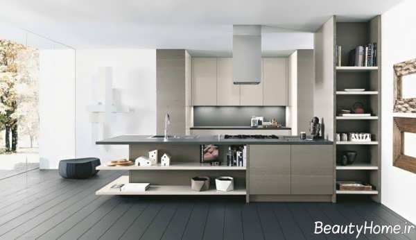 آشپزخانه مدرن و زیبا