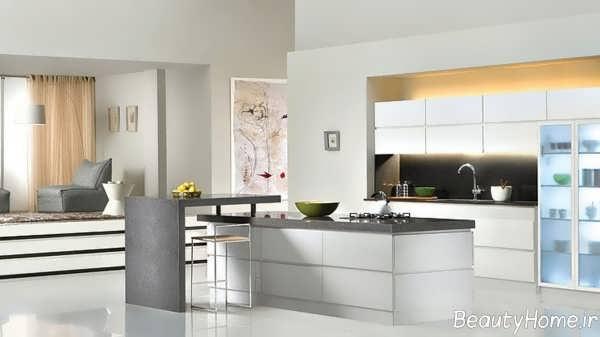 دکوراسیون زیبا و جذاب آشپزخانه