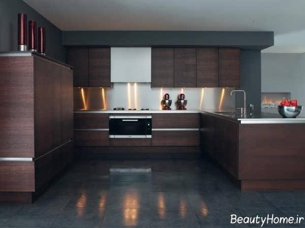 دیزاین آشپزخانه مدرن و زیبا
