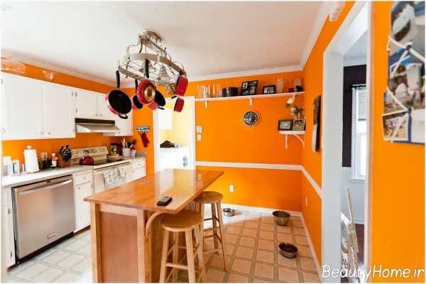 طراحی شیک و کاربردی آشپزخانه